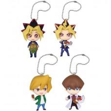 01-85741 Yu-Gi-Oh Duel Monsters Mini Deformed Figure Series Mascot Key chain Figure - Set of 4
