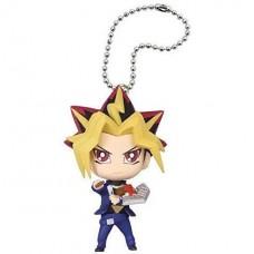 01-85741 Yu-Gi-Oh Duel Monsters Mini Deformed Figure Series Mascot Key chain Figure - Yami Yugi (Dark Yugi)