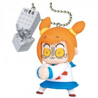 01-86520 Takara TOMY A.R.T.S Pop Team Epic  Poptepipic Figure Mascot 2 300y - Popuko Broken Poppo