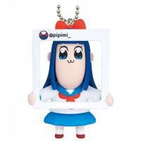 01-86520 Takara TOMY A.R.T.S Pop Team Epic  Poptepipic Figure Mascot 2 300y - Pipimi Shining Piping Beauty