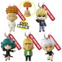 01-87802 One Punch Man Mini Figure Mascot Key Chain Vol. 3  300y - Set of 5
