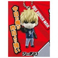 01-87802 One Punch Man Mini Figure Mascot Key Chain Vol. 3  300y - Genos