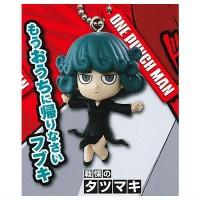 01-87802 One Punch Man Mini Figure Mascot Key Chain Vol. 3  300y - Tatsumaki