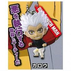 01-87802 One Punch Man Mini Figure Mascot Key Chain Vol. 3  300y - Garou