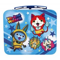01-15151 Marusho Yo-Kai Watch Mini Tin Lunch Box with Included Mini Memo / Note Pad