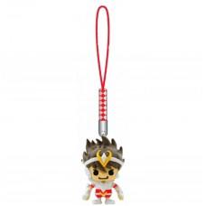 01-16709 Saint Seiya x Panson Works Mini Figure Mascot Netsuke Strap - Pegasus Seiya
