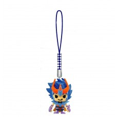 01-16710 Saint Seiya x Panson Works Mini Figure Mascot Netsuke Strap - Phoenix Ikki