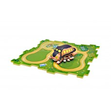 01-34129 My Neighbor Totoro Cat Bus Rail Puzzle Set