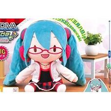 01-18005 Hatsune Miku Project DIVA Arcade Future Tone Mega Jumbo Plush Doll - Hatsune Miku Natural