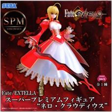 01-19299 Sega Fate Extella Saber Super Premium Figure - Nero Claudious (Red Saber,Emperor of Roses)