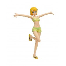 01-33373 Vocaloid Project Diva Arcade Future Tone Premium PVC Figure Kagamine Rin Miracle Star Resort Swimsuit Version