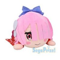 01-37743 RE: Zero Starting Life in A Different World Mega Jumbo Nesoberi Plush Ram Japanese Kimono Style