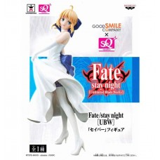 01-49716 Fate Stay Night Unlimited Blade Works SQ Figure - Saber