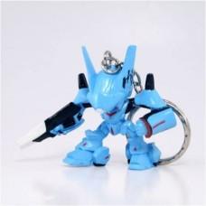 01-75639 Brain Powerd Gashapon Swingers Keychain - Blue Anitbody