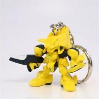 01-75639 Brain Powerd Gashapon Swingers Keychain - Yellow  Anitbody