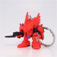 01-75639 Brain Powerd Gashapon Swingers Keychain - Red Anitbody