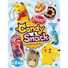 02-20351 Re-ment Pokemon Candy and Snack Mini Collectible Mascot Keychain