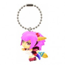 02-92207 Puzzles and Dragons God Festival Super Deformed Figure Mascot Swinger 200y - Red Dragon Summoner ・ Sonia