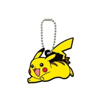 02-06540 Pocket Monster Xy&Z  Pokemon Capsule Rubber Mascot  Vol. 2 300y - Pikachu