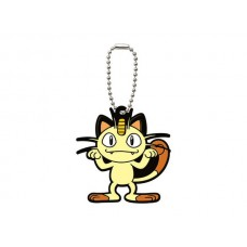 02-06540 Pocket Monster Xy&Z  Pokemon Capsule Rubber Mascot  Vol. 2 300y - Meowth