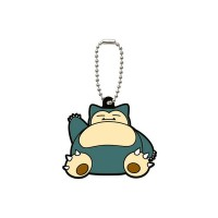 02-06540 Pocket Monster Xy&Z  Pokemon Capsule Rubber Mascot  Vol. 2 300y - Snorlax