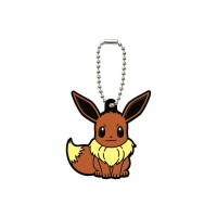 02-06540 Pocket Monster Xy&Z  Pokemon Capsule Rubber Mascot  Vol. 2 300y - Eevee