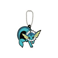 02-06540 Pocket Monster Xy&Z  Pokemon Capsule Rubber Mascot  Vol. 2 300y - Vaporeon