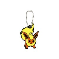 02-06540 Pocket Monster Xy&Z  Pokemon Capsule Rubber Mascot  Vol. 2 300y - Flareon