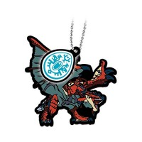 02-13199 Monster Hunter Stories: Ride On Capsule Rubber Mascot 300y -  Rathalos