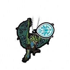 02-13199 Monster Hunter Stories: Ride On Capsule Rubber Mascot 300y -  Rathian