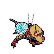 02-13199 Monster Hunter Stories: Ride On Capsule Rubber Mascot 300y -  Yian Kut-Ku