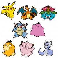 01-18225 Pokemon Sun & Moon Capsule Rubber Mascot  Pt. 4  300y - Set of 8