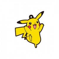 01-18225 Pokemon Sun & Moon Capsule Rubber Mascot  Pt. 4  300y - Pikachu