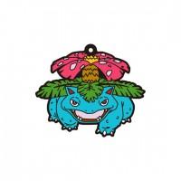 01-18225 Pokemon Sun & Moon Capsule Rubber Mascot  Pt. 4  300y - Venusaur