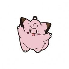 01-18225 Pokemon Sun & Moon Capsule Rubber Mascot  Pt. 4  300y - Clefairy