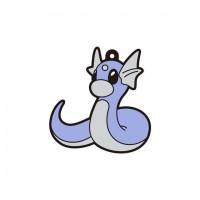 01-18225 Pokemon Sun & Moon Capsule Rubber Mascot  Pt. 4  300y - Dratini