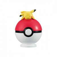 02-22607 Bandai  Pocket Monster Pokemon Tamanori (Ball Balancing) Collection 300y - Pikachu
