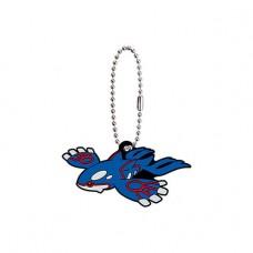 02-24719 Pocket Monster Pokemon Sun & Moon The Movie Capsule Rubber Mascot  Part 8 300y - Kyogre