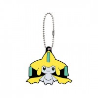 02-24719 Pocket Monster Pokemon Sun & Moon The Movie Capsule Rubber Mascot  Part 8 300y - Jirachi