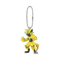 02-27125 Bandai Pokémon the Movie: Everyone's Story Mascot / Swing Keychain  300y - Zeraora