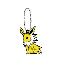 01-36243 Pokemon Sleeping Eevee Evolution Capsule Rubber Mascot Ver. 2 300y - Jolteon