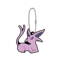 01-36243 Pokemon Sleeping Eevee Evolution Capsule Rubber Mascot Ver. 2 300y - Espeon