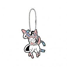 01-36243 Pokemon Sleeping Eevee Evolution Capsule Rubber Mascot Ver. 2 300y - Sylveon