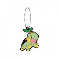 02-41765 Pokemon Sun & Moon Capsule Rubber Mascot Part 10 300y - Turtwig