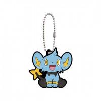 02-41765 Pokemon Sun & Moon Capsule Rubber Mascot Part 10 300y - Shinx
