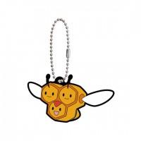 02-41765 Pokemon Sun & Moon Capsule Rubber Mascot Part 10 300y - Combee