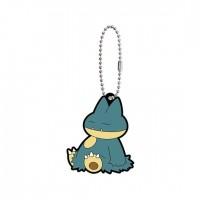 02-41765 Pokemon Sun & Moon Capsule Rubber Mascot Part 10 300y - Munchlax