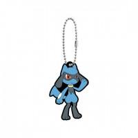 02-41765 Pokemon Sun & Moon Capsule Rubber Mascot Part 10 300y - Riolu