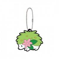 02-41765 Pokemon Sun & Moon Capsule Rubber Mascot Part 10 300y - Shaymin