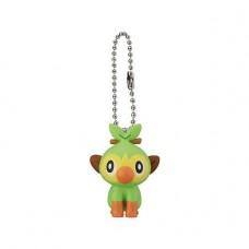 02-41769 Pokemon Sword and Shield Mini Figure Mascot Swing Key chain  300y - Grookey
